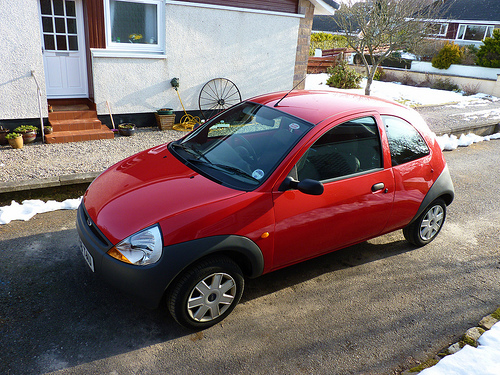 Ford KA - top 10 car for first time drivers