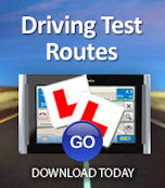 satnav test routes